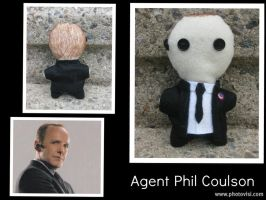 S.H.I.E.L.D. Agent Phil Coulson -The Plushies- by calceil