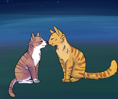 Leafpool/Mothwing by Shimmerspirit