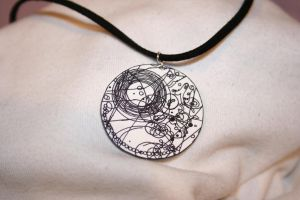 Time Lord Symbol Necklace by Half-Pint1990