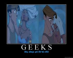 demote: Geeks get the babes by iflare