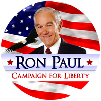 Ron Paul Liberty Button by RonPaulDesigns