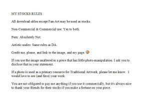 My Stocks Rules by MicheleHansen
