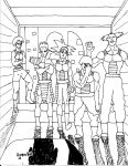 Bardock and crew by DragonBall-A