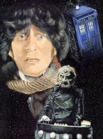 The Fourth Doctor by solman1