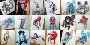 moleskine_sketches by peanuts23