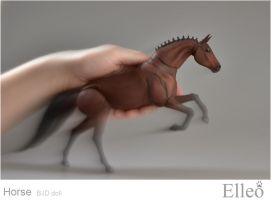 Horse bjd doll 11 by leo3dmodels