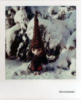 Mandy as a Snow Gnome by futurowoman