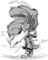 the Gunman from Afro Samurai by Lordmarshal