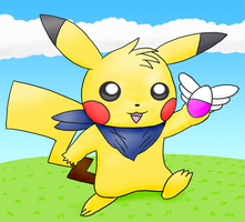 PMD Style Pikachu by pichu90