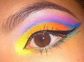 Color Wheel eyeshadow by KLRainbow