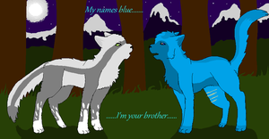 Long lost brother by Snowfallghost