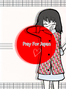Pray for Japan. by gaou-star