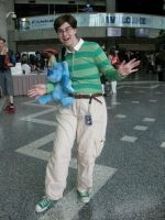Steve From Blues Clues - Fanime 2012 by ShellMinded
