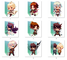 Owari no Seraph (2) folder icons by ColourfulKiwi