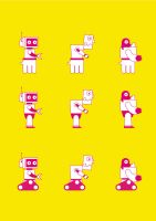 Robo Toy Factory - Robots by Monkiej