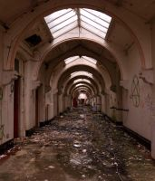Whittingham Asylum, Preston 1 by bob-in-disguise
