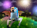 Fireworks by engibee