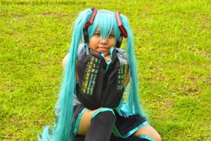Miku Cosplay by alybel