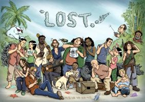 Lost in LOST by sheilalala