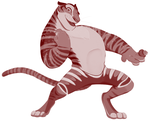 Tiger Dancer, with a donut ring! by RwoRomeo