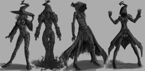 Mage concept thumbs by Cycrone