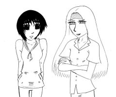 Snj Lee and Neji by Batsu13angel