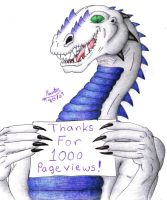 1000 Pageviews by PewterKat