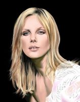 Charlize Theron by hazelong