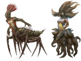 Creature concepts 2 by MDA-art