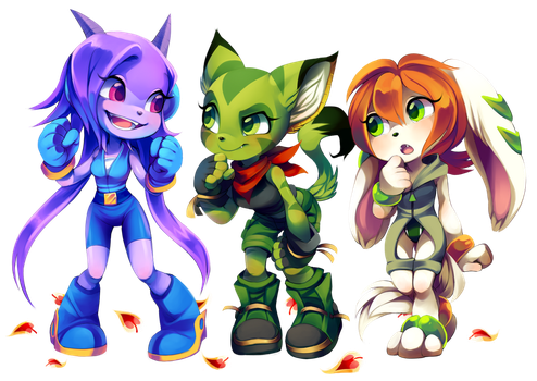 Freedom Planet by Kiwibon