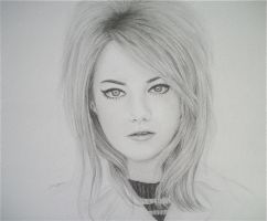Emma Stone by desertghoul