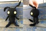 Amigurumi Heartless from Kingdom Heart by YarnHoardingDragon