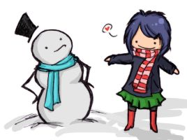 snowman v driffff by antichange