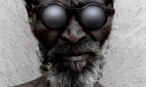 Man in Digital Plaster by thePixelpunch