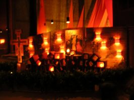 Taize, inside by Morneion