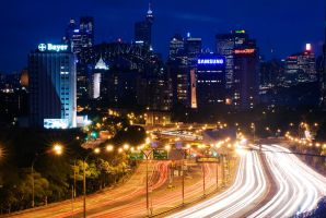 North Sydney Lights by jquilt