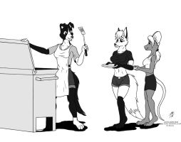 Lisa's Cookout - commission by Aelius24