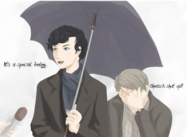 Sherlock, Shut Up! by Tanuki-desu