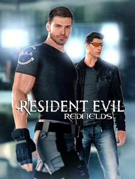 Chris and Piers Redfield by FearEffectInferno