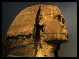 The Sphinx of Giza HDR by cienki777