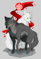 Wolves by miracoll