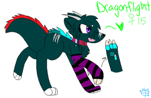 There's the door baby - Dragonflgiht redesign by WolfehzRock