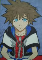 Sora ACEO by LadyNin-Chan