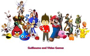 Guillaume and video games by Guillaume-Esteban