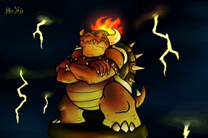 Behold King Bowser by Marioshi64