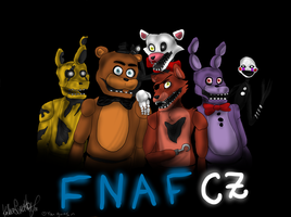 FNAF CZ Guys by KathiesCreatures