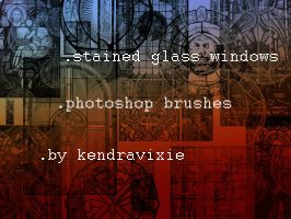 Stained Glass Windows by kendravixie