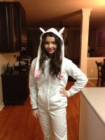 Kyubey Hoodie (Front) by Atomic-Crayon