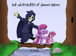 The Adventures of Damon Lipton Cover Art [Updated] by Mr-101