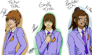 Avatar High School Host Club 2 by yami0204